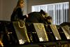 Upečatljive vrećeice Njuškala odgovaraju bojama stolica u Hypo EXPO XXI centru