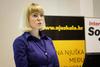 Anja Makovec, predavačica u ime srebrnog sponzora Web::Strategije - agencije Httpool