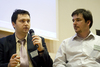 Krešimir Drvar (lijevo) i Marek Vidovič (desno) za okruglim stolom četvrte Web::Strategije