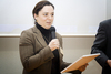 Predstavnica tvrtke iDEA studio prima Zlatnu nagradu Web::Strategije u kategoriji Zlatna web upotrebljivost 2008.