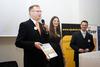 Dragan Varagi? uspio je nasmijati i publiku prilikom preuzimanja Zlatne nagrade Web::Strategije u ime tvrtke McCann Erickson Public Relations Beograd
