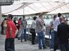 Pauza se iskoristila i za zapaliti cigaretu na velikoj terasi Hypo EXPO centra
