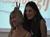 Dvije mlade dame koje su upravljale programom i organizacijom konferencije - u trenucima odmora