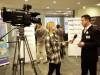 Davor Maričić daje izjavu voditeljici za televiziju