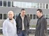 Direktori utjecajnih web tvrtki u Hrvatskoj - s lijeva: Davor Blaguški (Virtus dizajn), Siniša Randi? (Internet Softver), Krešimir Drvar (POSLUH)
