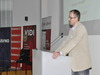 Dejan Bizinger, gost iz Srbije, dijelio je majice na svom predavanju