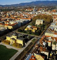 Grad Zagreb iz zraka